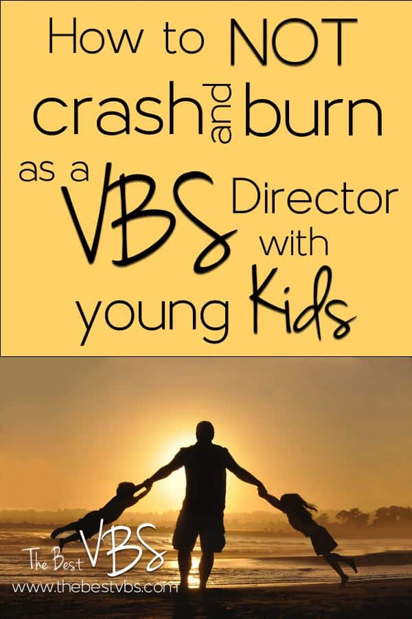 Being a VBS Director is hard, but exponentially harder with young kids.  Grab five ideas to help you balance VBS and parenting.